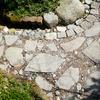 ネットで石材を買ってみた:庭の敷石に