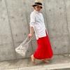 GUの990円スカートが優秀!美シルエットで着回し力抜群!