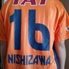 もってる選手😊さん16番西澤選手⚽応援したくなる汗かき役14番後藤さん