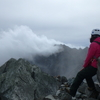 北穂高岳 登山の難易度 二日目