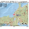 2016年09月05日 10時31分 福井県嶺北でM2.5の地震