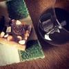 ワインに合う羊かん…作ってみた!【ドライフルーツの羊かんタルト】