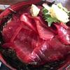 【五所川原市】五所川原の魚茂で食べられる煌びやかな鉄火丼。