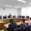 中林佳子参院候補、後藤県委員長をはじめ島根県党の皆さんが福島の被災地を視察し県議団とも懇談。