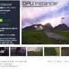 【新作アセット】「GPU Instancer」GPUの力で大量のオブジェクトを高速にレンダリング!Terrainの草や木や、通常の岩や住居のPrefabを最適化してパフォーマンスを劇的にアップ!「VRゲーム開発」必見の新作アセットが誕生!!