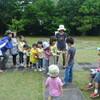 森のムッレ教室 春夏コース2回目(5/22)「雨の森のたんけんとムッレの手紙」