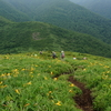 【開山祭】三倉山へ登ってきたよ【ニッコウキスゲ満開】