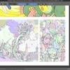 David Revoyさんのウェブコミックメイキング最新版:「エピソード22 投票システムのメイキング」その2 スキャンと翻訳向け準備、G'micを使った色塗り準備