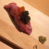 【ニクスペシャリテ カルマ/神戸 三宮】上品にお酒とお肉をいただく。ちょっとずつが嬉しい。