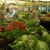 リュブリャナの市場