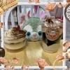 大人なデザート、プレシアさんのほろにが珈琲のパルフェとドンレミーさんのモンブランティラミス!