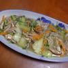 幸運な病のレシピ( 1661 )昼 :八宝菜風(青梗菜・もやし・人参・ひらたけ・豚バラ肉・白ワイン&シャンタン)