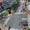 令和元年神田祭:浜二東西、浜三、中洲の町会の神輿が中の橋交差点で!