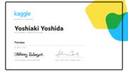 Pandas を基礎から学ぶために「Kaggle Courses」の学習コンテンツを受講した