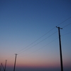 (写真撮影)木更津市・久津間海岸の海中電柱撮影