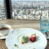 墨田区プチ贅沢ランチ!地上150mの展望とイタリアンをラ・ソラシドで楽しむ