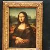 モナリザの写真。もっかいパリの写真の整理をしています。