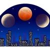 皆既月食!魅惑の天体観測に!2018年1月31日何が起こるのか!?