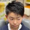 中学生になるまでの…アシンメトリー・ツーブロックはブッシュクラフトキッズらしいヘアスタイル