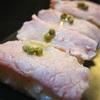 しゃぶしゃぶ豚肉で作る、豚肉のにぎり寿司