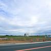 茨城県常総市鬼怒川決壊地の空き地