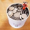 12月某日『10カ月にわたる小銭貯金の結果』
