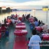 絶景のメコン川。ナコンパノムのクルージングレストランでのディナー。