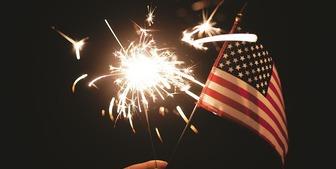 アメリカ独立記念日(インデペンデンス・デイ)はBBQと犬の闘いと花火を見て過ごした