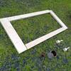 砂場を作る DIY 1日目