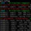 【Git】 コマンドを間違えたとき git reflog が便利だった