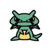 レックウザ(ポケモン)の色のぷちゴン|ぷちゴン