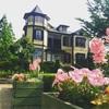 横浜の元町近くの外交官の家とイタリア山庭園にいました