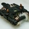 Nゲージの台車に小型モーターを架装してみた
