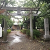 近所の神社の風景