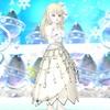 【レインスカート】でウェディングドレス風コーデ