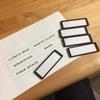 ファイルボックス収納のラベリングに便利なモノ!
