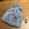 パイナップル編みのポーチを編んでみた♡その2