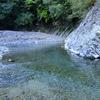 愛媛県東温市 山之内の阿歌古渓谷