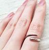 シンプルなchibi jewelsの指輪はどれも長く愛せそう