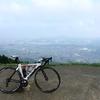 景色が最高な米の山展望台へ、初ヒルクライム
