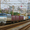 10月23日撮影 東海道線 平塚~大磯間 貨物列車 5095ㇾ 3075ㇾ 2079ㇾ