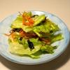 【レタスに一手間で豪華なサラダに】レタスの和風サラダ