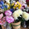 熊本 西区 お墓参り 造花 線香立て 花立