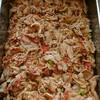 豚のアンチョビトマト炒め