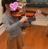 小学生女の子の習い事と費用♪バイオリン始めました!