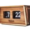 ミッドセンチュリー家具からインスピレーションを受けて作られたNuvitron社製フリップクロック「Bors(ブロス)」