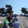 鍋松原海水浴場で潮干狩り