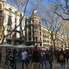 バルセロナ ランブラ通りからレイアール広場へ