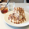 クリームの洪水♡生キャラメルが香ばしいシフォンケーキ(MERCER CAFE DANRO @恵比寿)