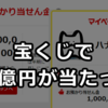 宝くじで10億円が当たった【重大発表】